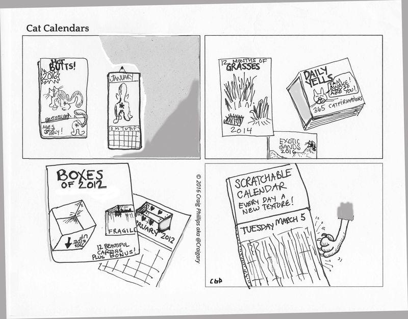 Cat-calendar-cartoon
